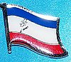 Mariy-El Flag Badge, Lapel Pin Mariy el russian state badge, Anstecknadel Maryy-el
