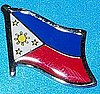 Phillippines Pin, Flag Pin