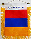 Armenia Car Flag, Mini car Flag