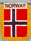 Norway Mini Car flag, mini banner norway, autofahne norwegen