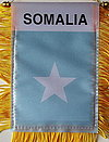 Somalia Mini Car flag, window hanger somalia, autofahne somalai