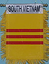 South Vietnam Car flag, mini banner south vietnam