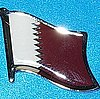 Qatar Flag Pin