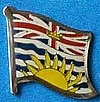 British Columbia Flag Pin