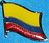 Colombia Flag Pin, Anstecknadel