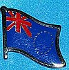 Cook Island Flag Pin