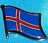 Iceland Flag Pin