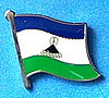 Lesotho Current Flag Lapel Pin