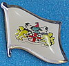 Melbourne Flag Pin