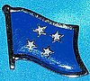Micronesia Flag Pin