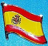 Spain Badge, Flag Pin Spanien, Anstecknadel