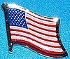USA Hat Pin, United States of America Flag Badge, Anstecknadel Amerika