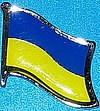 Ukraine Flag Badge, Hat Pin Ukraine, Anstecknadel Ukraine