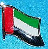 United rab Emirates Hat Pin, Flag Badge UAE, Anstecknadel