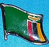 Zambia Flag Badge, Anstecknadel Zambia, Hat Pin, Zambia
