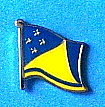 Tokelau Hat Pin, Tokelau Flag Badge, Anstecknadel Tokelau