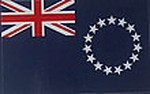Cook Island Bumperbar sticker, Autoaufkleber Cook Islands, Flag Dcal Cook Islands