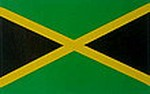 Jamaica Flag Decal. bumperbar sticker Jamaica, Autoaufkleber Jamaica