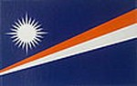 Marshall Islands Flag Decal, Bumperbar sticker