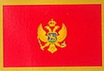 Montenegro Car Sticker, Flag decal, autoaufkleber, bumperbar sticker