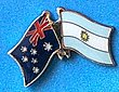 Australia/Argentina Friendship Pin