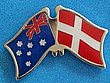Twin Pin Australia/Denmark, Double Pin