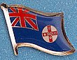 New South Wales Flag Lapel Pin