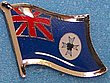 Queensland Flag Lapel Pin