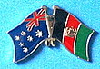 Australia/Afghanistan Friendship Pin