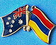 Australia/Armenia Friendship Pin