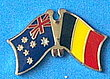 Australia/Belgium Friendship Pin