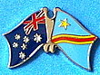 Australia/Congo Democratic Republic Twin Pin