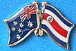 Friendship Pin Cost Rica, Australia, Twin Pin