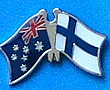 Twin Pin Australia/Finland, Crossed Pin