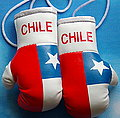 Chile Mini boxing Gloves, Box Handschuhe Chile