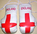England Boxing gloves, Box Handschuhe England