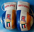 Old South Africa Mini boxing glove, kickhandschuhe Saouth Africa Old