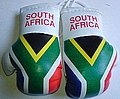 South Africa Boxing Glove, Mascot rear view mirror South Africa, Kikhandschuh Suedafrika