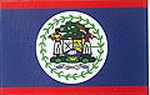 Belize Sticker, aufkleber Belize, Flag Decal, Flaggen sticker