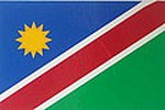 Namibia Flag Decal, Flag sticker Namibia, Autoaufkleber Namibia