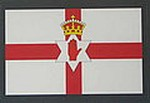 Northern Ireland Flag Sticker Car Sticker, Flag Decal,Autoaufkleber Nord Ireland