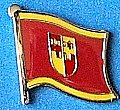 Krapina Zagorje Flag Badge, Flag Pin Krapine