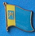 Split and Dalmatia Flag Badge, Flag Hat Pin