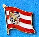 Varazdin Flag Pin, Hat PinVarazdin Flag