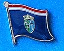 Sisak Moslavina Flag Lapel Pin, Flag Badge Sisak