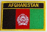 Afghanistan Flag Patch, Country Patch Afghanistan, Iron on patch Afghanistan,