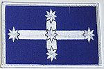 Eureka Flag Patch, Iron on Patch Eureka