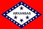 Arkansas Flag, Flagge USA State