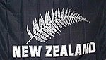 New Zealand Silver Fern Flag