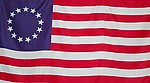 USA Betsy Ross Flag, Flag Historical USA